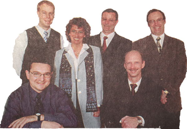 Consulting Team Historie 2001